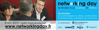 Save the date ! Networking day le 8/10 à Lyon