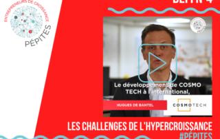 Défi Cosmo Tech - Les challenges de l'hypercroissance #Pépites